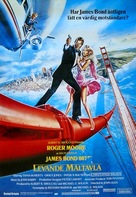 A View To A Kill - Swedish Movie Poster (xs thumbnail)