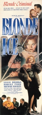 Blonde Ice - Movie Poster (xs thumbnail)