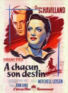 To Each His Own - French Movie Poster (xs thumbnail)