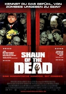Shaun of the Dead - German Movie Poster (xs thumbnail)