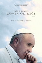 Pope Francis: A Man of His Word - Serbian Movie Cover (xs thumbnail)