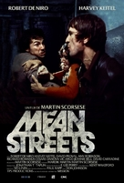 Mean Streets - French Re-release poster (xs thumbnail)