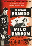 The Wild One - Swedish Movie Poster (xs thumbnail)