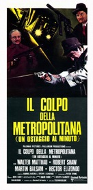 The Taking of Pelham One Two Three - Italian Theatrical poster (xs thumbnail)