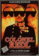 Oberst Redl - French Movie Poster (xs thumbnail)