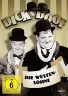 Sons of the Desert - German DVD cover (xs thumbnail)