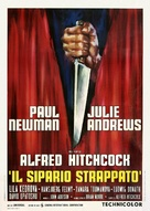 Torn Curtain - Italian Movie Poster (xs thumbnail)