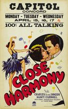 Close Harmony - Theatrical poster (xs thumbnail)