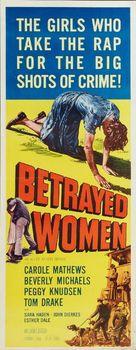 Betrayed Women - Movie Poster (xs thumbnail)