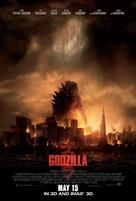 Godzilla - Malaysian Movie Poster (xs thumbnail)
