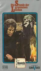 El jorobado de la Morgue - German VHS movie cover (xs thumbnail)