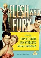 Flesh and Fury - British DVD cover (xs thumbnail)