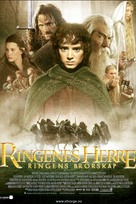 The Lord of the Rings: The Fellowship of the Ring - Norwegian Movie Poster (xs thumbnail)
