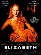 Elizabeth - French Movie Poster (xs thumbnail)
