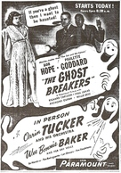 The Ghost Breakers - Movie Poster (xs thumbnail)