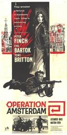 Operation Amsterdam - British Movie Poster (xs thumbnail)