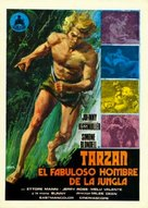 Karzan, il favoloso uomo della jungla - Spanish Movie Poster (xs thumbnail)