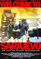Welcome To Sarajevo - German Movie Poster (xs thumbnail)