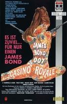Casino Royale - German VHS movie cover (xs thumbnail)