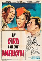 Abroad with Two Yanks - Italian Movie Poster (xs thumbnail)