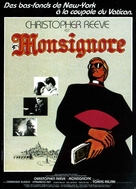 Monsignor - French Movie Poster (xs thumbnail)