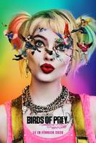 Harley Quinn: Birds of Prey - French Movie Poster (xs thumbnail)
