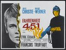 Fahrenheit 451 - British Theatrical movie poster (xs thumbnail)