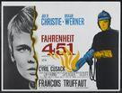 Fahrenheit 451 - British Theatrical poster (xs thumbnail)