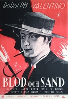 Blood and Sand - Swedish Movie Poster (xs thumbnail)
