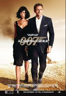 Quantum of Solace - Hungarian Movie Poster (xs thumbnail)