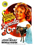 Curly Top - French Movie Poster (xs thumbnail)