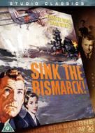 Sink the Bismarck! - British DVD cover (xs thumbnail)