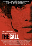 The Call - French Movie Poster (xs thumbnail)