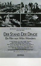 Stand der Dinge, Der - German Movie Poster (xs thumbnail)