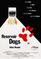 Reservoir Dogs - German Movie Poster (xs thumbnail)