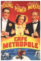 Café Metropole - Movie Poster (xs thumbnail)