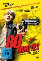 80 Minutes - German Movie Cover (xs thumbnail)