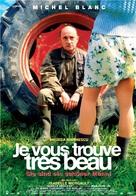 Je vous trouve très beau - Belgian Movie Poster (xs thumbnail)