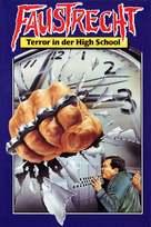 Three O'Clock High - German Movie Cover (xs thumbnail)
