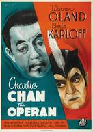 Charlie Chan at the Opera - Swedish Movie Poster (xs thumbnail)