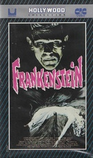 Frankenstein - German VHS movie cover (xs thumbnail)