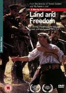 Land and Freedom - British Movie Cover (xs thumbnail)