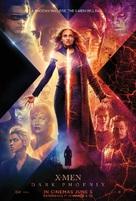 X-Men: Dark Phoenix - British Movie Poster (xs thumbnail)