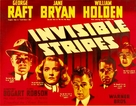 Invisible Stripes - Movie Poster (xs thumbnail)