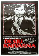 The Final Conflict - Swedish Movie Poster (xs thumbnail)