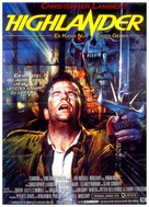 Highlander - German Movie Poster (xs thumbnail)