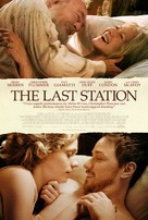 The Last Station - Theatrical movie poster (xs thumbnail)
