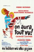 On aura tout vu - Belgian Movie Poster (xs thumbnail)