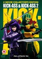 Kick-Ass 2 - British DVD cover (xs thumbnail)