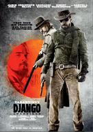 Django Unchained - Norwegian Movie Poster (xs thumbnail)